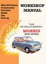 Morris Mini 1959-1976 Workshop Repair Manual